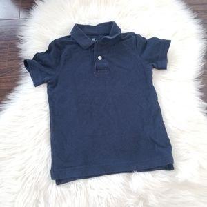 2/10$ 🎆 Gap | Boy Navy Blue Polo Short Sleeve sz4